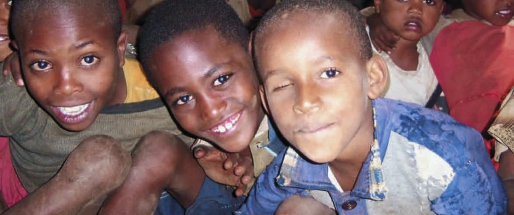 Città dei ragazzi sorridenti - Etiopia