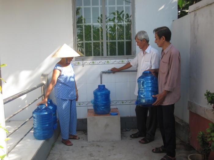 Impianto di depurazione acqua in Vietnam  Gruppo India
