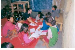 Nepal Tipling RRi che studiano