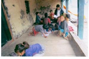 Nepal Tipling lezione col maestro
