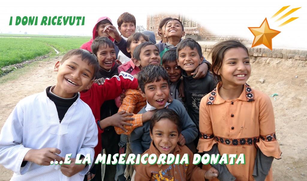I doni ricevuti e la misericordia donata