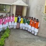 India Karnataka pannelli ragazze